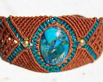 Handmade macrame bracelet