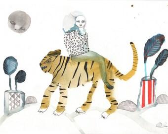 Original Watercolor #131