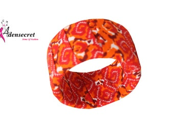 Tade Bangle   Red/Orange