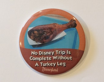 Turkey Leg Celebration Button