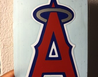 Anaheim Angels vinyl decal for car