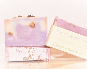 Goat Milk Soap - Rose Goat Milk Soap