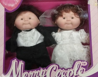 Bride and Groom Doll Set Merry Couple Made for WalMart