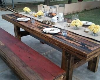 Reclaimed Barn Table