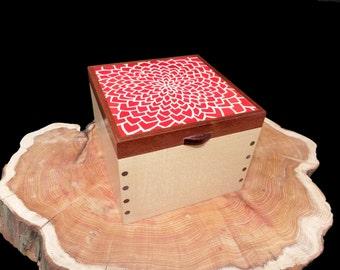 Chrysanthemum Jewellery Box