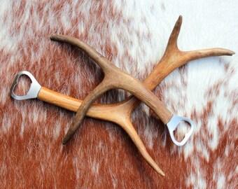 Reindeer Antler Bottle Opener