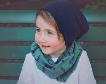 Infinity scarf child baby Tunder lightning