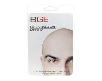 BGE Medium Latex Bald Cap Free Adhesive