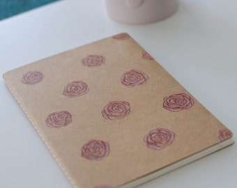 Notebook Pink Roses