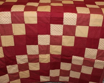 Americana Red Lap Quilt