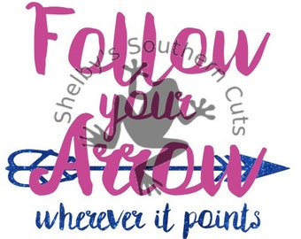 Follow Your Arrow 2 SVG files