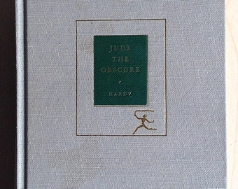 Jude the Obscure Thomas Hardy Modern Library 1923