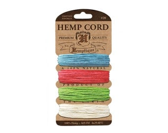 Chit Chat Hemp Cord Set