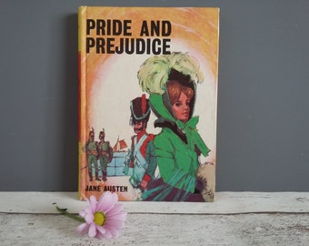 Vintage Hardback Pride and Prejudice by Jane Austen