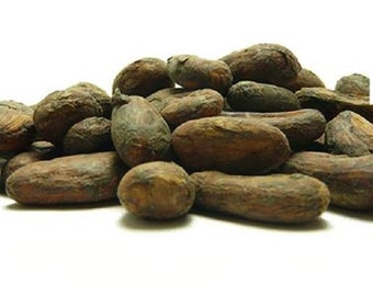 Raw Cacao Whole Beans,Dark Cacao From Peru 250gr / 8.81oz.