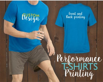 Custom screen printing custom t shirts custom silk screen for Custom printed performance shirts