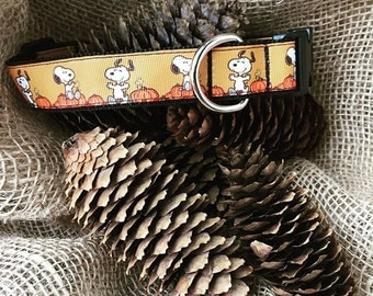 Dog Collar The Great Pumpkin Charlie Brown