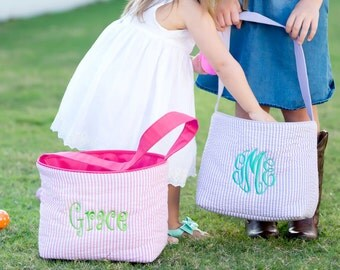 Personalized / Monogrammed Easter Bucket / Basket