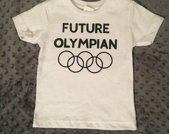 Future olympian kids shirt