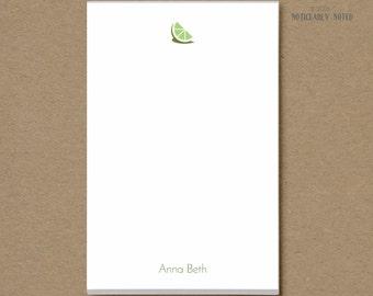 Personalized Notepad - Citrus Design - Custom Notepad - Lemon - Orange - Lime