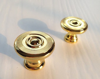 Gold Knobs Cabinet Knob Dresser Knobs / Drawer Pulls Handles Knobs Kitchen Cabinet Pull Knobs Furniture Hardware