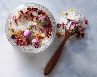 Jeu de marelle de sels de bain, sels de bain coffret — soins naturels fabriqués au Royaume Uni