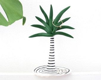 Palm Tree Ring Dish