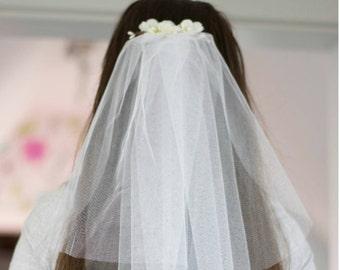 Bachelorette Schleier Brautdusche Schleier Party Zubehör Stirnband Schleier Blumen Braut Partei rustikale Hochzeit
