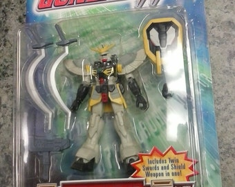 1995 Bandai Gundam Wing mobile suit Gundam SANDROCK action figure