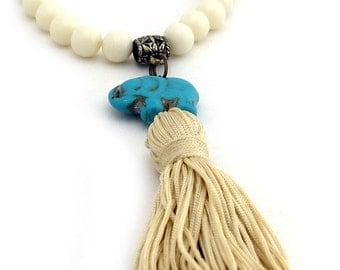 Tassel Bracelet, Boho Bracelet, Bohemian Bracelet, Elephant Bracelet, Gypsy Bracelet, Mermaid, Yoga, Charm Bracelet, Gift for her