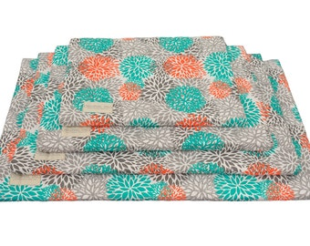 Floral Crate Mat | Pet Pad | Dog Crate Bed | Water Resistant | Dog Kennel Pad | Dog Mat | Dog Bed | Puppy Bed | Sm, Med, Large, XL Dog Mats