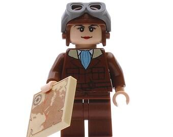Amelia Earhart - Custom Minifigure