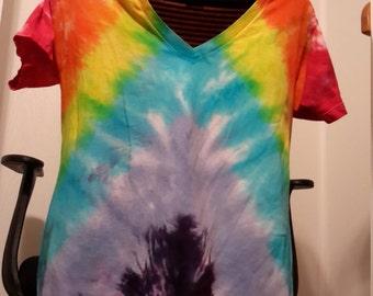 LGBT Pride Rainbow V-neck T-Shirt