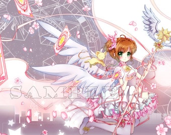 Card Captor Sakura 1x Large Print