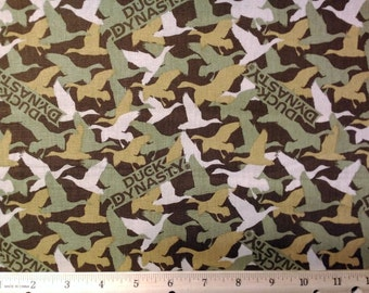 Duck Dynasty Camo Fabric