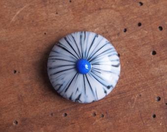 Interchangeable ringtop / threadable ringtop / lampwork / muramoglass /