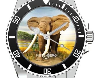 Elefant KIESENBERG ® Uhr 2530