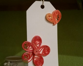 Quilled Gift Tags - Made to Order - Bulk Available -