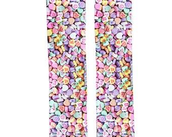 Candy Heart Socks