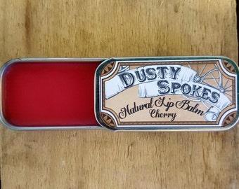 Cherry Lip Balm-Cherry Flavor-Cherry-Natural Lip Balm-Lip Balm-Lip-Lip Care-Lip Products-Natural