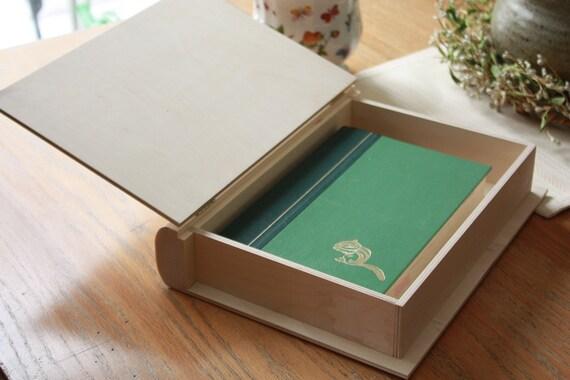 12 Keepsake Book Box Book Box Unfinished Wood Box