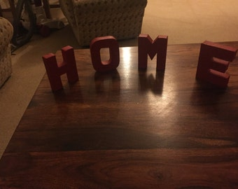 Painted Home Letters