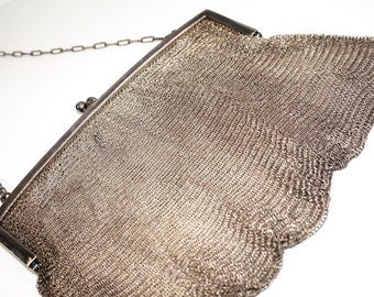 1950s Mesh Bag Purse Larger Than most 5335