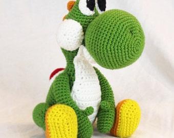 Crochet Yoshi Toy