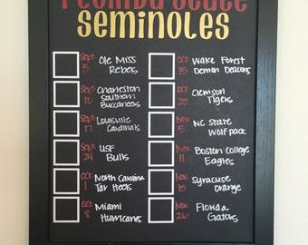Florida State Seminoles Record Board
