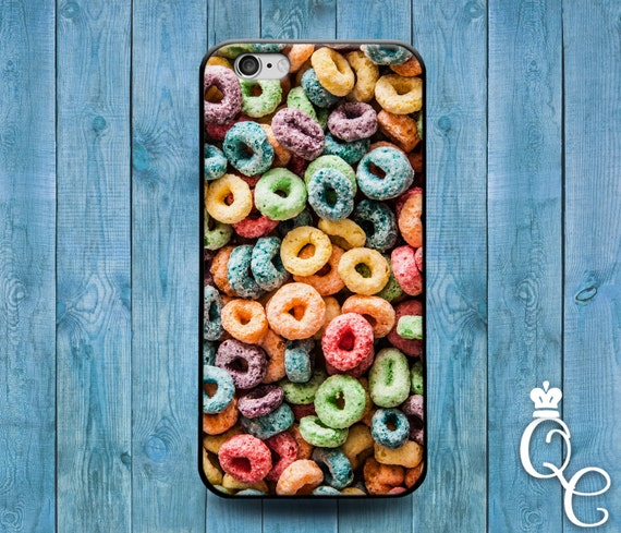 iPhone 4 4s 5 5s 5c SE 6 6s 7 plus iPod Touch 4th 5th 6th Generation Cool Cover Cute Hipster Kid Cereal Breakfast Colorful Phone Funny Case
