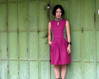 Fen Qipao Purple