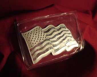 "Silver Bar One Troy Oz.999Fine Silver SMI--Sunshine Minting, Inc. Gift ""FREE SHIPPING"""