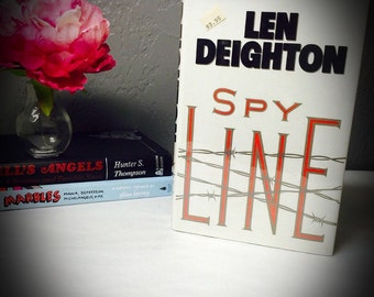 first edition first printing book Spy Line by Len Deighton hardback copy
