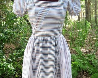 shirt dress, upcycled shirt dress, refashioned shirt dress